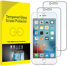 2-Pack iPhone 7Plus 8Plus Tempered GLASS Screen Protector Bubble Free High End