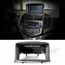 Audio GPS Dash Integral Fascia 1CD Carbon For 2011 - 2015 Chevy Aveo sonic 4d/5d