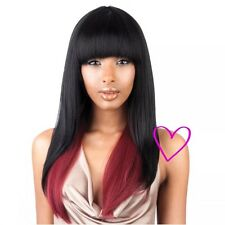 BS103 - ISIS Brown Sugar Human Hair Style Mix Full Wig Natural Texture