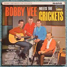 'Bobby Vee meets The Crickets'  1962 Mono Vinyl LP. Liberty LBY 1086
