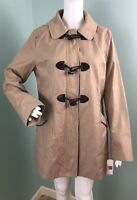 NWT Womens Laundry By Design Hooded Toggle Zipper Coat Jacket Sz L Large
