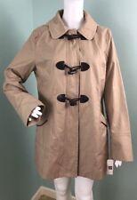NWT Womens Laundry By Design Hooded Toggle Zipper Coat Jacket Sz L Large
