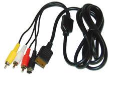 Sega Dreamcast Cable video RCA S-Video compatible