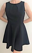 ZARA Skaterdress Kleid A-Linine ausgestelltes schwarz M Business Blogger