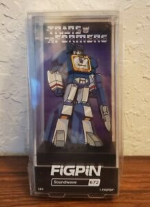 🔥 Figpin Transformers Soundwave #672 Entertainment Earth Exclusive IN STOCK