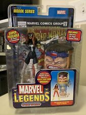 2006 Marvel Legends Modok Series - SPIDER WOMAN Black Variant Figure New In Box