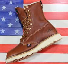 "Thorogood 8"" American Heritage Non-Safety Soft Toe Waterproof 814-4008 USA MADE"