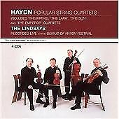 Haydn: Popular String Quartets - Live At The Genius Of Haydn Festival, The Linds