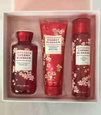 Bath and Body works Japanese Cherry blossom set