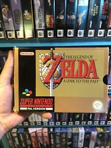 Zelda A Link To The Past SNES Boxed In Good Condition