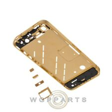 Housing Mid Plate for Apple iPhone 4 GSM Gold Body Frame Chassis Cover