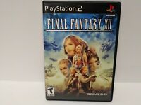 Final Fantasy XII - Playstation 2 Game Disc & Case, No manual - Free Shipping!