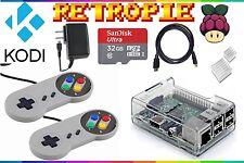 RetroPie & Kodi - Raspberry Pi 3 Ultimate Retro Emulation Console - 32 GB