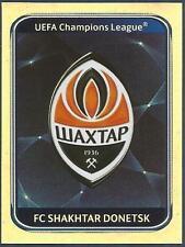 PANINI UEFA CHAMPIONS LEAGUE 2010-11- #498-SHAKHTAR DONETSK TEAM BADGE-FOIL
