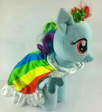My Little Pony RAINBOW DASH Shimmer Wings with Cape Plush Build a Bear Workshop