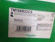 Novo na caixa de fábrica Schneider Modicon TM168B23CS