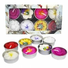 Flower Floral Scented Candles & Tea Lights