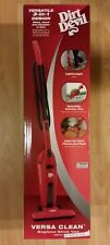 Dirt Devil SD20010 Versa Clean Bagless Corded 3-in-1 Hand and Stick Vacuum Red