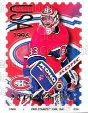 1996-97 NHL Pro Stamps #24 Patrick Roy