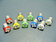 10 GM Twist In Instrument Panel Cluster LEDs Bulbs Red Green Amber Blue White