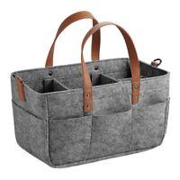 Baby Diaper Caddy Organizer Portable Holder Shower Basket Portable Nursery SU4Y5
