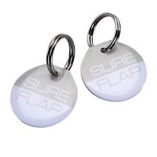 SureFlap RFID-Halsbandanhänger, Mikrochip für Katzenklappen (Weiß)