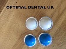 Fast set Dental Impression Putty Material for 2 Impression top/bottom with trays