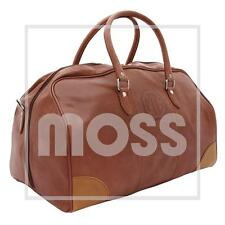LEATHER TRAVEL BAG WITH MG LOGO BROWN TAN - GAC9815X