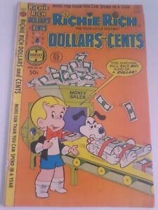 Harvey World Richie Rich Dollars And Cents #85 Comic Book Free Combined Shipping