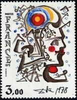 """FRANCE STAMP TIMBRE YVERT N° 2067 """" OEUVRE DE SALVADOR DALI """" NEUF xx LUXE"""