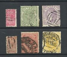 Used Single Australian State & Territory Stamps