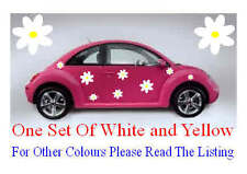 16 Large Daisy flower car van camper vw graphics stickers decals BLACK FRIDAY