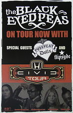 THE BLACK EYED PEAS Tour PROMO Poster FERGIE will.i.am TABOO apl.de.ap RARE New