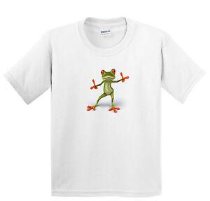 Children's Tree Frog T Shirt - Boys or girls animals tee