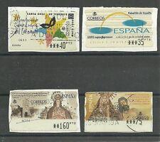 SPANIEN MiNr ATM 42/45 o auf Papier mit+ohne Automatennummer