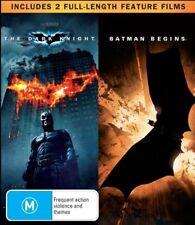 Batman Begins / The Dark Knight (Blu-ray, 2008, 2-Disc Set)