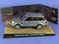 RANGE ROVER SPORT QUANTUM OF SOLACE JAMES BOND 007 1/43 UNIVERSAL HOBBIES