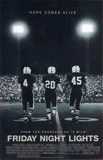Friday Night Lights movie poster : 11 x 17 inches  - Football Poster