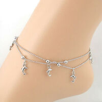 Fashion 2016 Cheap Dolphin Women bracelet foot ankle chain  jewelry Gift  RAC
