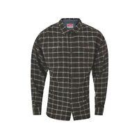 Wrangler Men's casual Shirt top Long Sleeve Western Check Size XXL 2XL Genuine