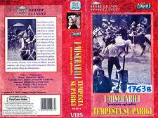 I Miserabili - Tempesta su Parigi (1947) VHS Gli  Intramontabili  -  VHS Part  2