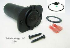 Waterproof Accessory Lighter Plug Socket Outlet 12V Marine, Boot, Fuse Holder