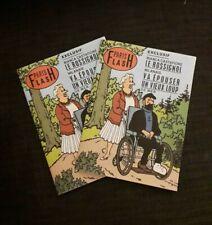 Tintin et les bijoux de la Castafiore : PARIS FLASH (format A5 broché numéroté)