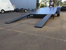 Car Trailer AUSTRALIAN MADE single axle HYDRAULIC TILT bed 12X6.6FT 1450kg ATM