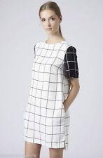 Topshop Viscose Short Sleeve Regular Size Dresses for Women