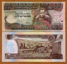 Ethiopia, 10 Birr, 2017, Pick 48-New, UNC > Weaver, Tractor