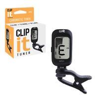 WTU1 CLIP IT Uke Clip-On Ukulele Tuner Chromatic Acoustic Electric / Bass Guitar