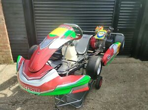 2018 Project One Cadet Kart With RPM Honda GX160 Race Engine