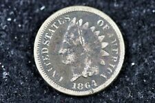 Estate Find 1864 - Copper Nickel Indian Head Cent!!  #H9134
