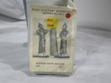 g Rose Military Miniatures 54mm Sealed No. 74b Assyrian Heavy Infantry w Shield